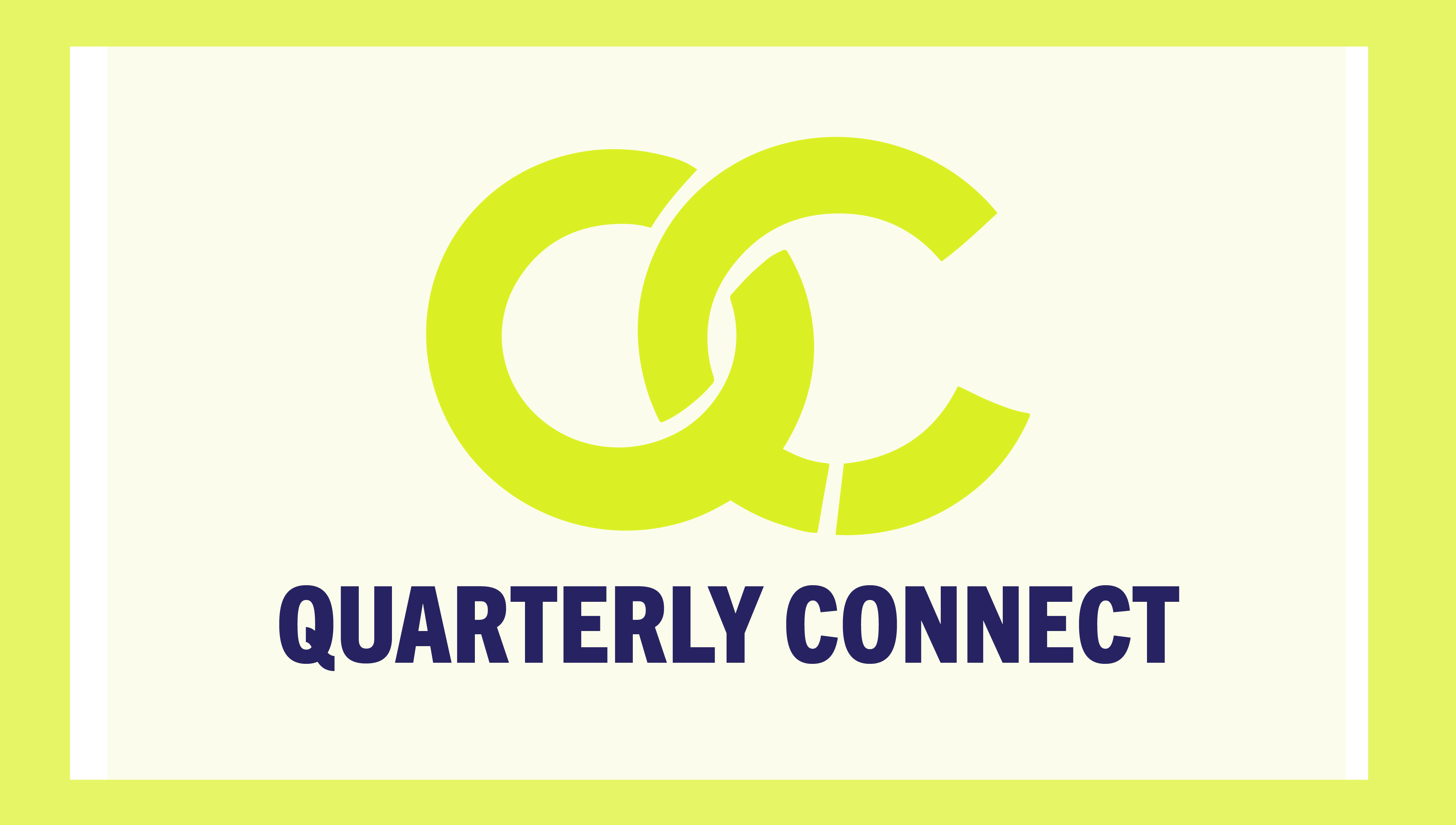 Quarterly Connect (Free) @ Zoom